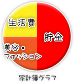 船橋 千葉 錦糸町の高収入風俗アルバイト【キャンパスサミットグループ】あみの家計簿グラフ