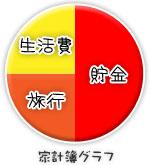 船橋 千葉 錦糸町の高収入風俗アルバイト【キャンパスサミットグループ】あんなの家計簿グラフ