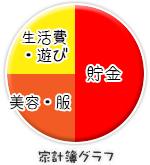 船橋 千葉 錦糸町の高収入風俗アルバイト【キャンパスサミットグループ】まなみの家計簿グラフ
