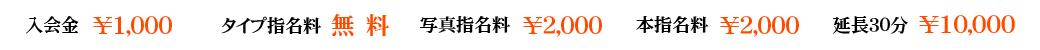 錦糸町デリヘル風俗|錦糸町 小岩 デリバリーヘルス【キャンパスサミット錦糸町店】基本料金